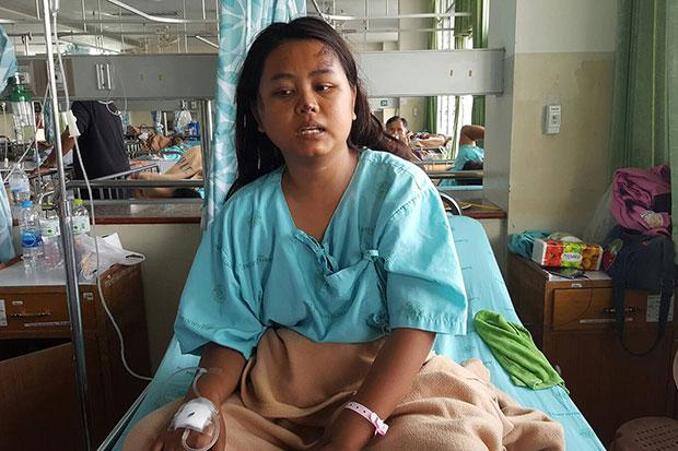 Injured student left ignored on roadside | Bangkok Post: news