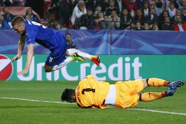 Sevilla edge Foxes, but Vardy scores | Bangkok Post: news