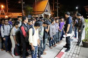 Myanmar nationals nabbed sneaking into Malaysia