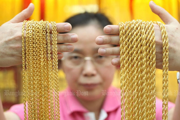 Gold prices steady at B20,650