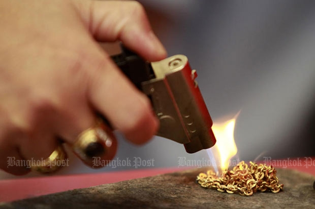 Gold prices falls B150 to B20,500