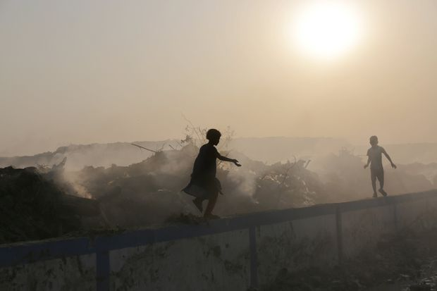 WHO: Polluted environments kill 1.7m children a year