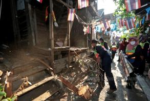 Mahakan Fort mourns loss of century-old house