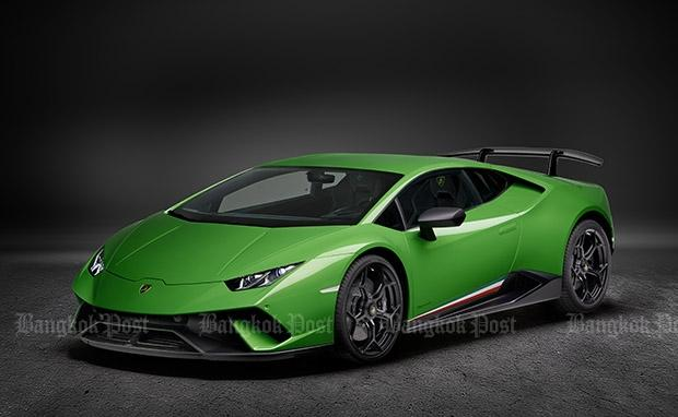 lamborghini unleashes new huracan performante bangkok post auto. Black Bedroom Furniture Sets. Home Design Ideas