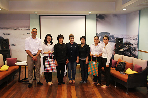 Amari and OZO Samui welcome Zero Carbon Resorts (ZCR) committee from Green Leaf Foundation Thailand