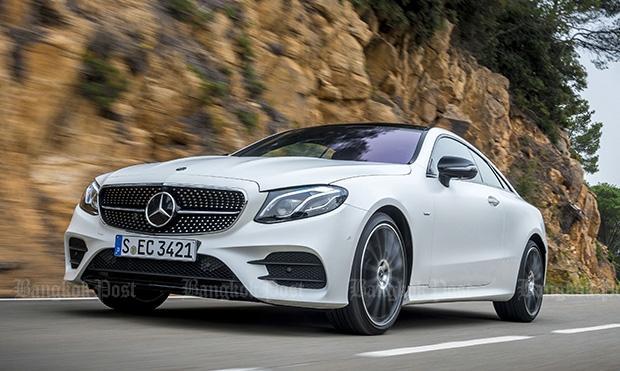 2017 Mercedes-Benz E-Class Coupe review | Bangkok Post: auto