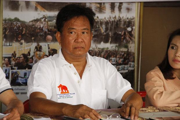 Laithongrien Meepan, owner of the Ayutthaya Elephant Palace, has called off his elephant demonstration planned for Bangkok on Monday.