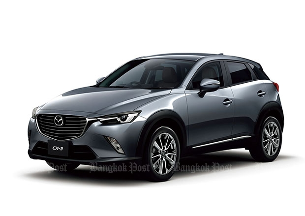Mazda CX-3 takes 2016 Thailand Car of the Year title