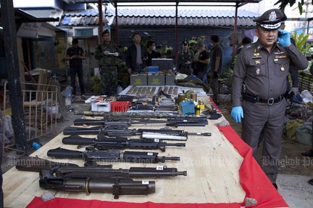 Govt denies weapons seizure a set-up
