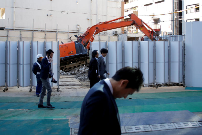 Robots, automation simplify building sites in Japan