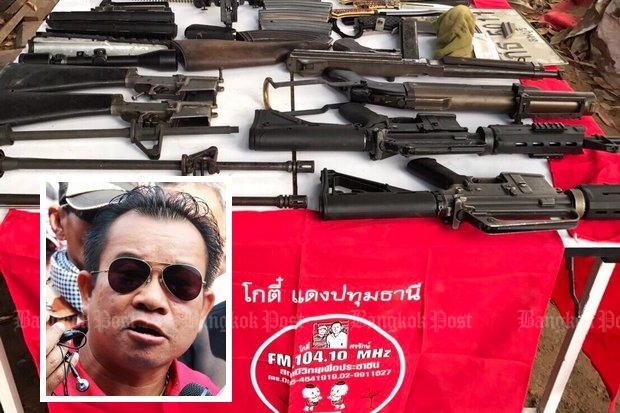 Red shirt weapons plot 'aimed to kill PM'