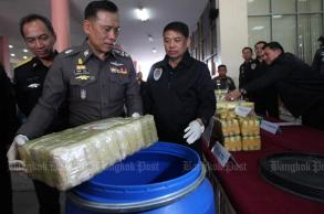 Truck driver arrested with 1.1m meth pills