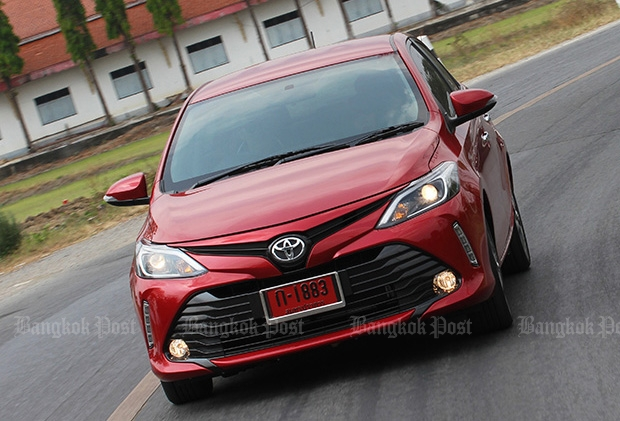 2017 Toyota Vios 1.5 S review