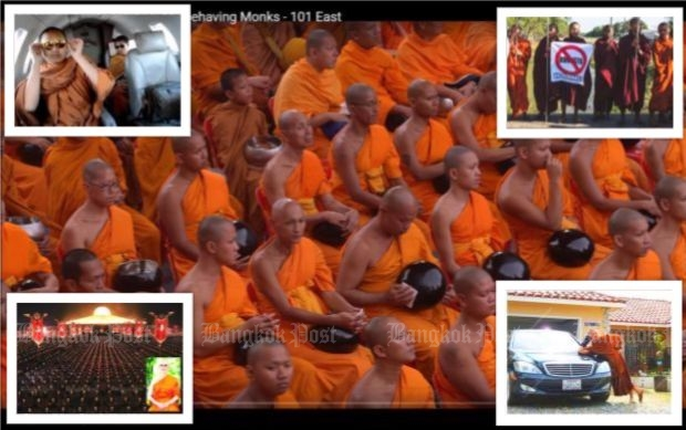 Sangha reform: Monks getting rich off of temple donations