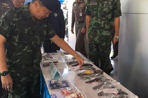 Drugs, guns, vehicles seized in far South sweep
