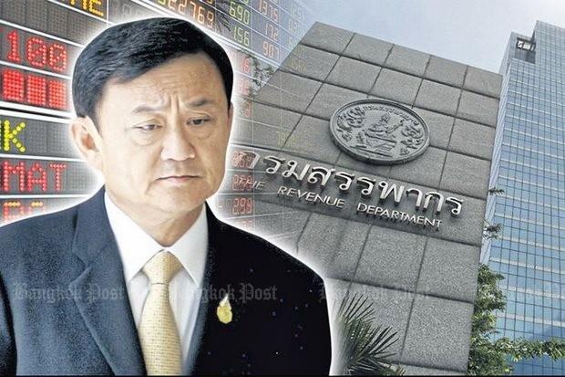 Thaksin set to challenge tax grab