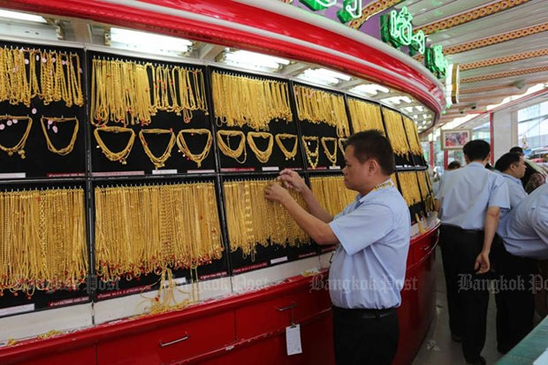 Gold prices falls B50 to B20,450