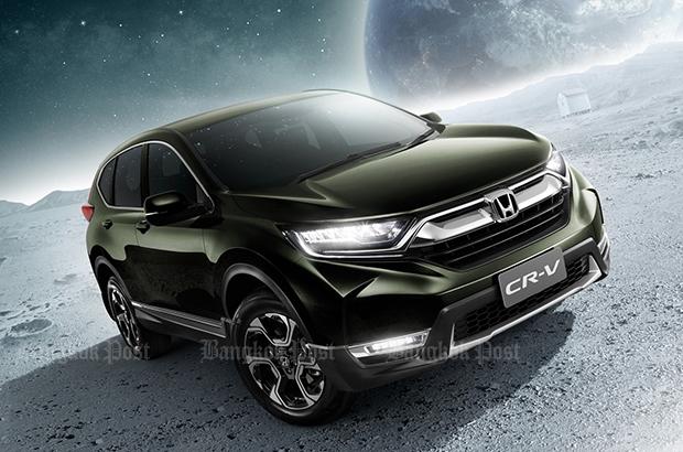 2017 New Honda CR-V: Thai prices and specs