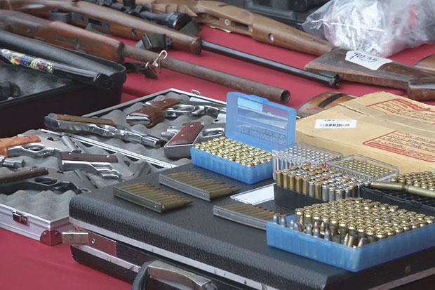 Nine held in Korat weapons sweep | Bangkok Post: news