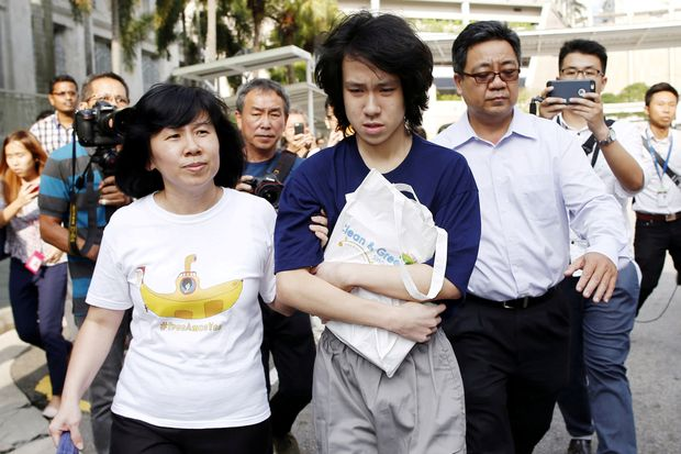 Singapore teen blogger granted asylum in US