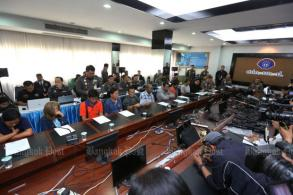 Detention extended for red-shirt weapons suspects