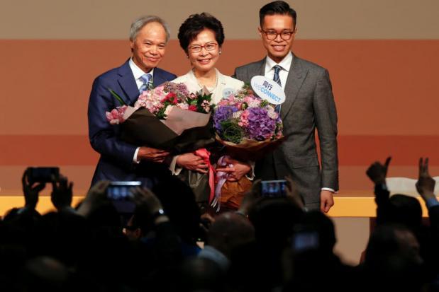 Beijing's pick Lam chosen as Hong Kong leader | Bangkok Post: news