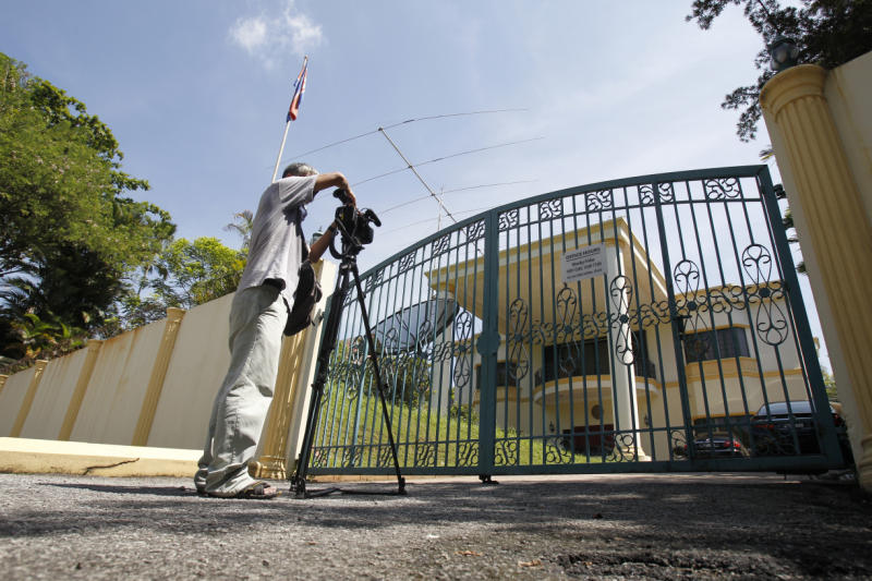 Malaysian police enter NK embassy: local paper