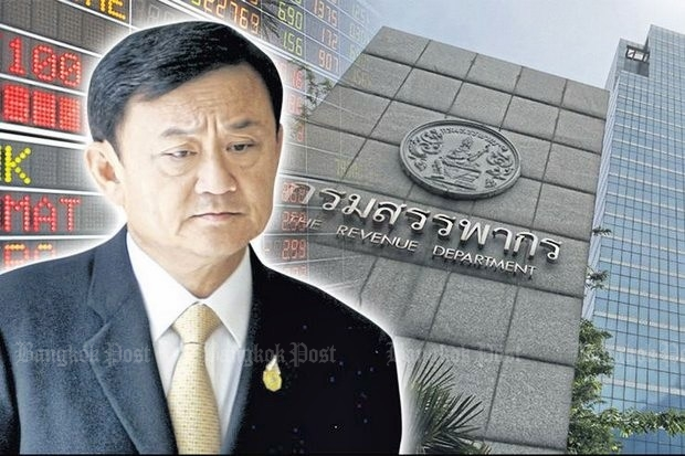 Thaksin ordered to pay B16bn in tax