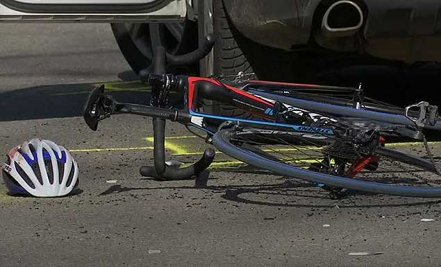 Several injured when car drives into bicycle race in Germany