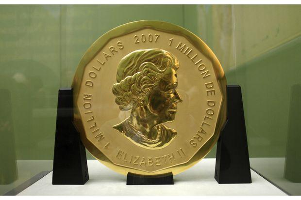 Massive gold coin stolen from German museum | Bangkok Post: news