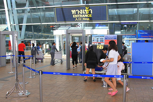 Phuket airport to change departing luggage checks