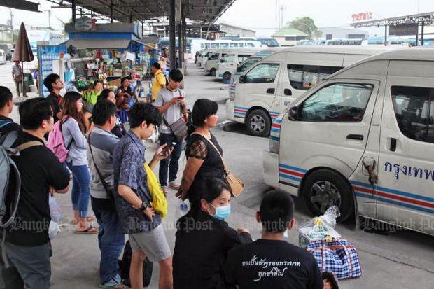 Van operators mull stoppage
