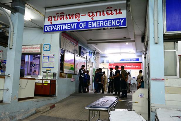 Fish poacher shot by police   Bangkok Post: news