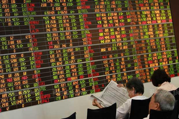 SET rises 0.83 to 1,577.55 points   Bangkok Post: business
