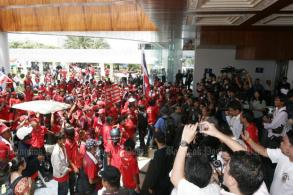 Bail request for red-shirts who stormed Asean Summit