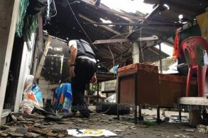 12 police hurt in Yala bomb, gun attack