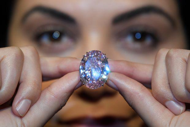 Rare 'Pink Star' Diamond Sold For $71.2M