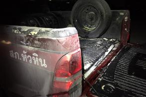 Jobless man arrested for torching police vehicle