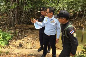 Encroached mangrove forest seized in Trat