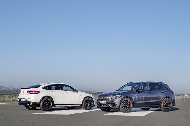 Mercedes-AMG GLC63 eyes fastest SUV title in its class