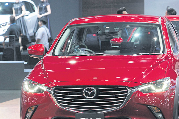 Incentives for EVs catch Mazda's eye