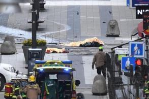 Stockholm truck attack kills 4