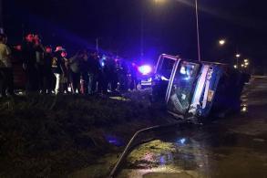Three killed in Trat bus crash