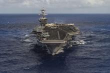US Navy strike group 'to move toward Korean peninsula'