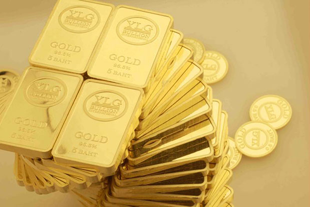 Global gold prices rise 10% in first quarter