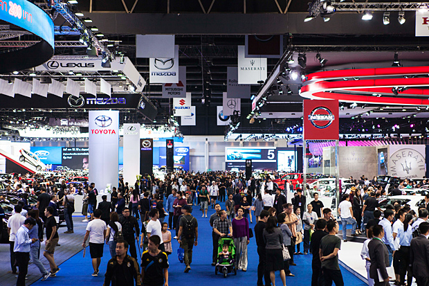 Motor show bookings stagnant once again