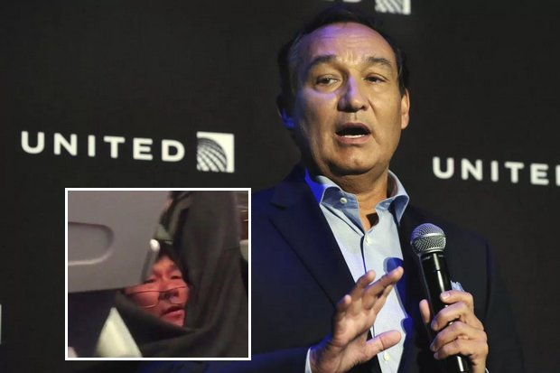 United Airlines boss: 'This never will happen again'