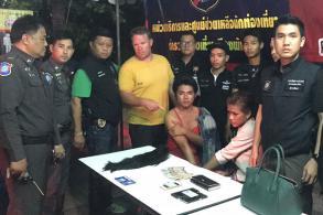Transgenders nabbed after pickpocketing tourist