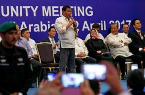 Duterte cancels visit to disputed South China Sea island