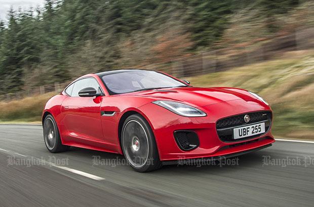 Jaguar F-Type gets four-pot turbo power